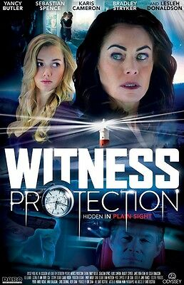 POSTER Witness Protection (CANADA, 2017) Yancy Butler, Karis Cameron