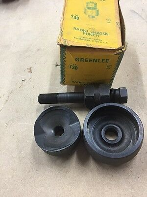 "Greenlee 2 3/4"" Diameter Radio Chassis Knockout Punch 5004247"