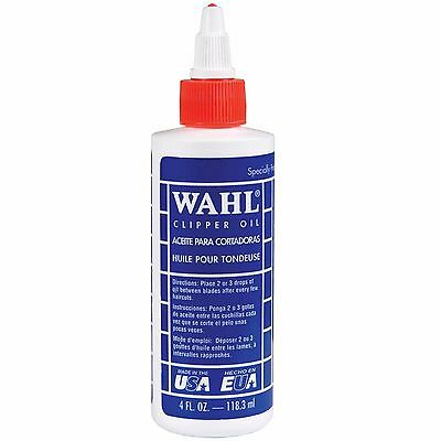 Wahl Clipper Oil 118.3Ml 4 Fl Oz For Electric Hair Trimmer Clippers Shaver 3310