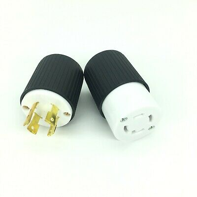 L14-30 Plug & Connector125/250V Power Cord Set for Generator UL APPROVED Generic