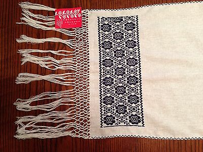 Hand Made Embroidered Mexican Runner