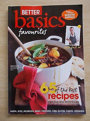BH&G~Better Basics~Favourites~65 Recipes~Cookbook~Tips~Techniques~2012