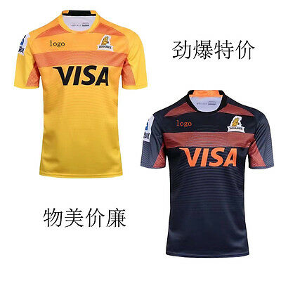 Argentina 17-18 Jaguares rugby Jersey Home-Back Rugby jersey Shirt Top S-3XL