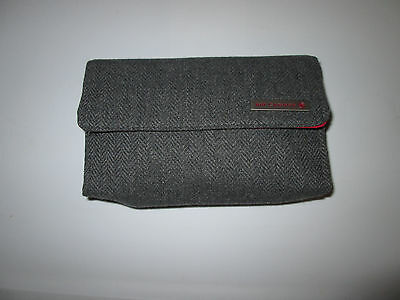 Air Canada Business Class Gray Tweed Amenity Kit
