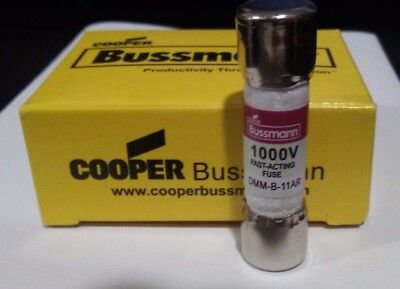 1 DMM-11A BUSSMANN FAST-ACTING FUSE 1000 VAC/DC - Fast FREE Shipping