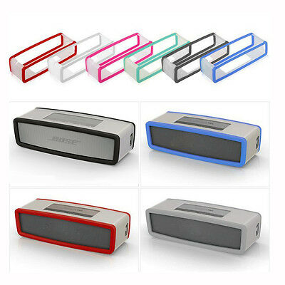 Travel Soft Silicone Cover Case For Bose SoundLink Mini 1 2 Bluetooth Speaker