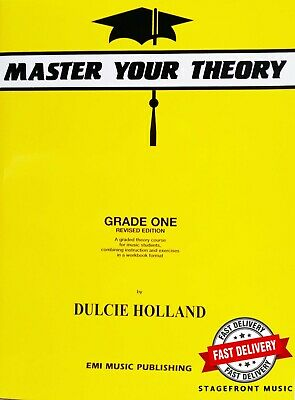 Master Your Theory Grade 1 / One - Revised Edition