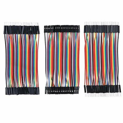40pcs Male To Male/Female Female to Female Row Jumper Wire Cable for Arduino