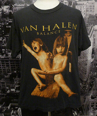 Van Halen Balance Tour T-Shirt Vintage 1995 Men's X-Large Vintage Condition