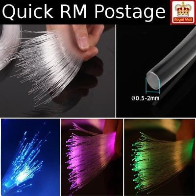 Fibre Optic Strand Cable 0.5-2mm Hobby Light Guide Model Ceiling Lamp Decoration