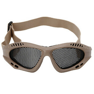 Tactical Frame Glasses Sport Safety Polarized Lens Goggles With Safety net