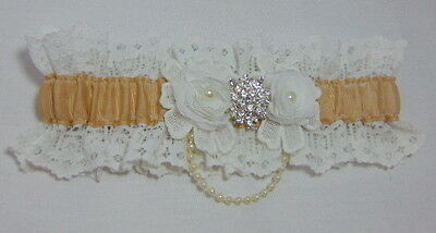 vintage lace Bridal Wedding garter.