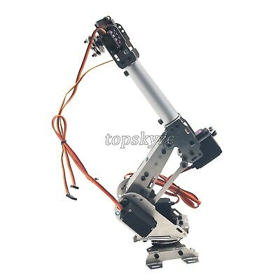 All Metal Gear 6-Axis Robot Arm ABB Model Manipulator with MG996R MG90S Servos