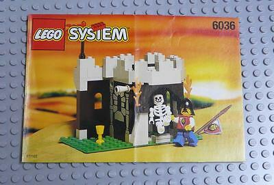 LEGO INSTRUCTIONS MANUAL BOOK ONLY 6036 Skeleton Surprise x1PC