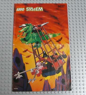 LEGO INSTRUCTIONS MANUAL BOOK ONLY 6037 Witch's Windship x1PC