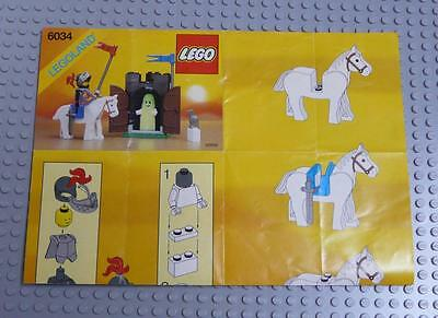 LEGO INSTRUCTIONS MANUAL BOOK ONLY 6034 Black Monarch's Ghost x1PC