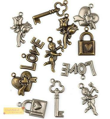 Hobby & Crafting Fun Charms LIEBE - Love 1006, Anhänger, Embellishments