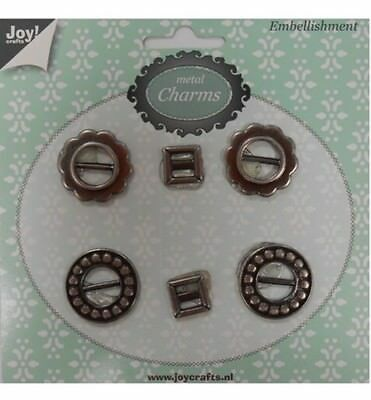 Joy Crafts Metal Charms SCHNALLE 6350/0307,Charms, Anhänger,Embellishment