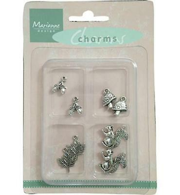 Marianne Design Charms Set Fall - Herbst JU0908, Embellishments