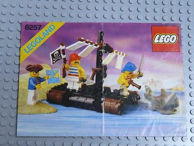 LEGO INSTRUCTIONS MANUAL BOOK ONLY 6257 Castaway's Raft x1PC