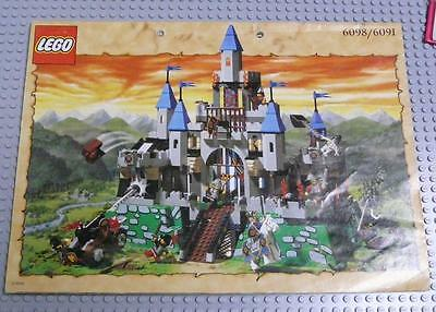 LEGO INSTRUCTIONS MANUAL BOOK ONLY 6098 King Leo's Castle x1PC