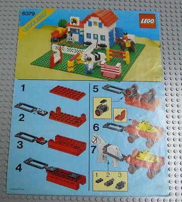 LEGO INSTRUCTIONS MANUAL BOOK ONLY 6379 Riding Stable x1PC