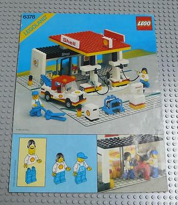 LEGO INSTRUCTIONS MANUAL BOOK ONLY 6378 Service Station x1PC