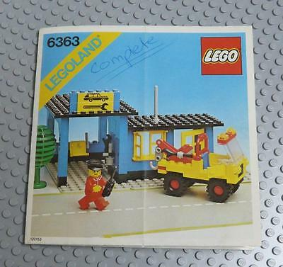 LEGO INSTRUCTIONS MANUAL BOOK ONLY 6363 Auto Service Station x1PC