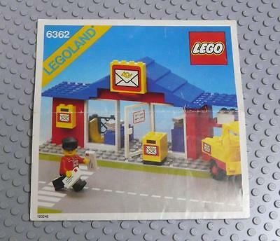 LEGO INSTRUCTIONS MANUAL BOOK ONLY 6362 Post Office x1PC