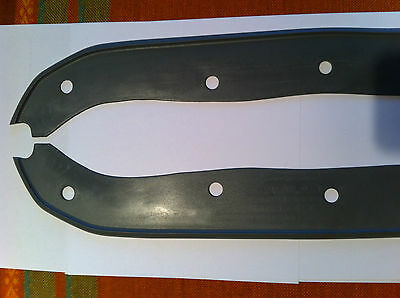 lambretta front mudguard rubbers SERIES 3 TV SX IN GREY