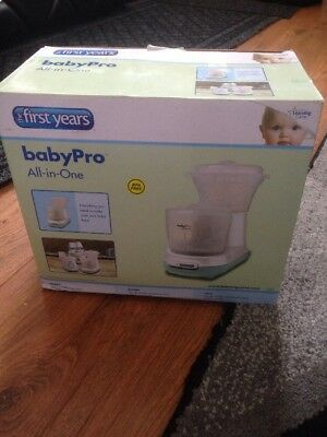 The First Years Baby Pro All-in-One Food Blender and Steamer