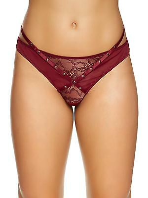 Ann Summers Womens Karly Stud Thong Lace Mesh G-String Sexy Lingerie Underwear