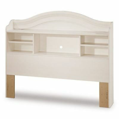 South Shore Furniture Summer Breeze Collection, 54-Inch Bookcase Headboard