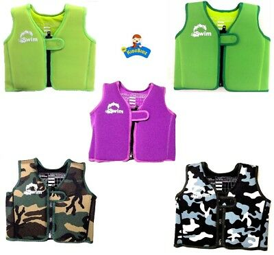 Swim Childrens Kids Swimming Vest Buoyant Aid