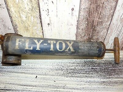 Vintage French Bug Sprayer FLY TOX Insecticide Sprayer Spray Pump France
