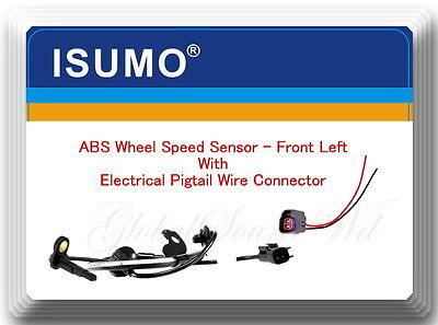 ABS Wheel Speed Sensor Front Left Fits Mitsubishi Lancer  Outlander