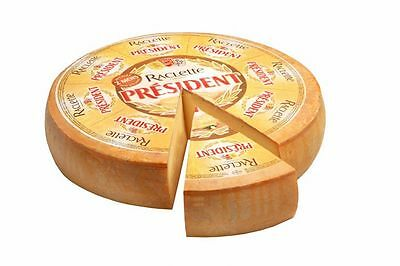 RACLETTE CHEESE PRÉSIDENT Pasteurized cow's milk / Free Shipping