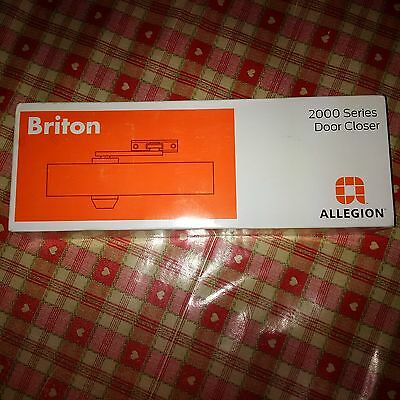 Briton 2003.SES Door Closer - Size 3 Silver with Silver arms 2000 series 54643