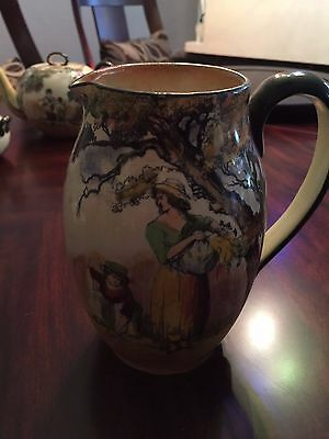 "Royal Doulton ""The Gleaners"" Pitcher"