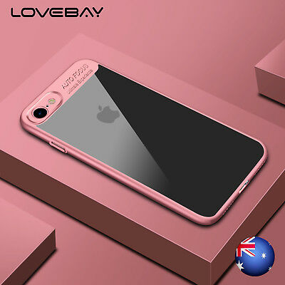 For iPhone 6 6s 7/7 Plus Ultra Thin Slim Shockproof Clear Hybrid Back Case Cover