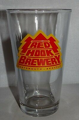 Red Hook Brewery Pint Beer Glass Seattle Washington Portsmouth New Hampshire