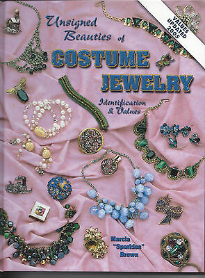 Coll Unsigned Beauties of Costume Jewelry ID & Values by Marcia 'Sparkles' Brown