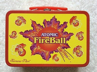 Ferrara Pan Atomic FireBall Mini Tin Lunchbox