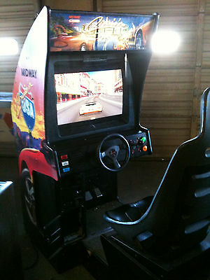 Crusin' USA or World  Deluxe SitdownArcade game CRT to LCD ( Led) conversion Kit