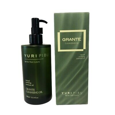 [YURI PIBU] Grante Cleansing Oil 300ml / 10oz K-beauty Green tea-infused