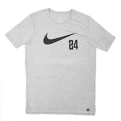 47aa23ede NIKE KOBE SWOOSH 24 Tee Shirt NEW men 857896-100 white red - $32.00 ...