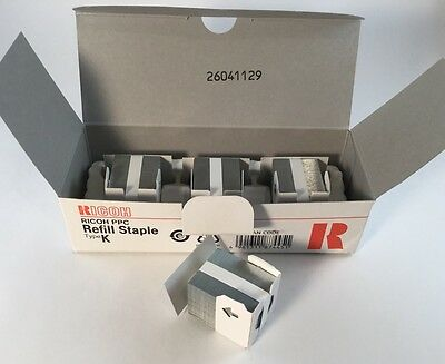 Ricoh 4 Pack Refill Staple Type K 410802