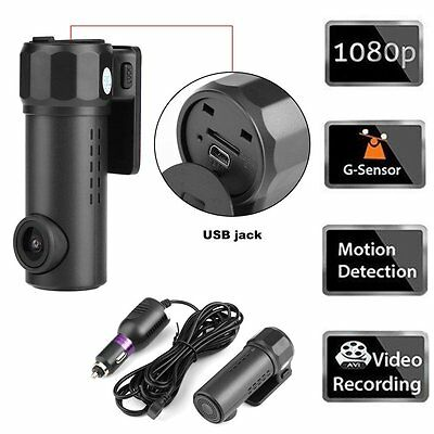 Mini Cam Full HD 1080P WIFI Smart Car DVR Camera Video Recorder Monitor Dash Cam