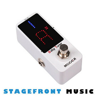 Mooer Baby Tuner Micro Guitar Effects Pedal Floor Tuner