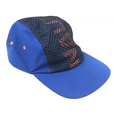 Nautica Vintage Collection for UO Mens Womens Unisex Bright Cobalt Running Hat